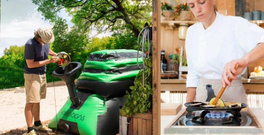 homebiogas compost kitchen
